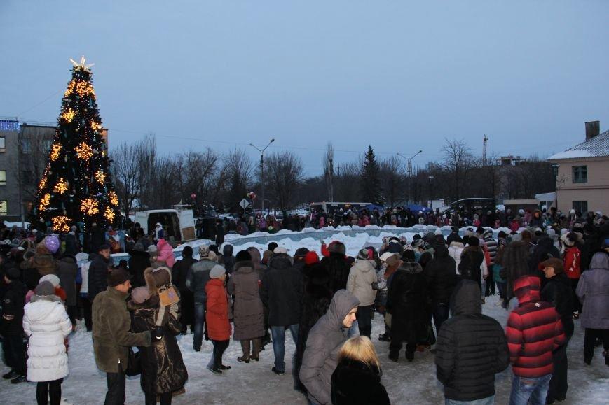 Открытие Новогодней елки в Димитрове, фото-5