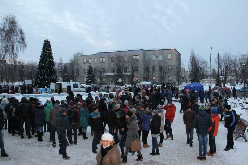 Открытие Новогодней елки в Димитрове, фото-3