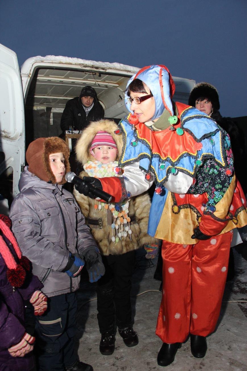 Открытие Новогодней елки в Димитрове, фото-6