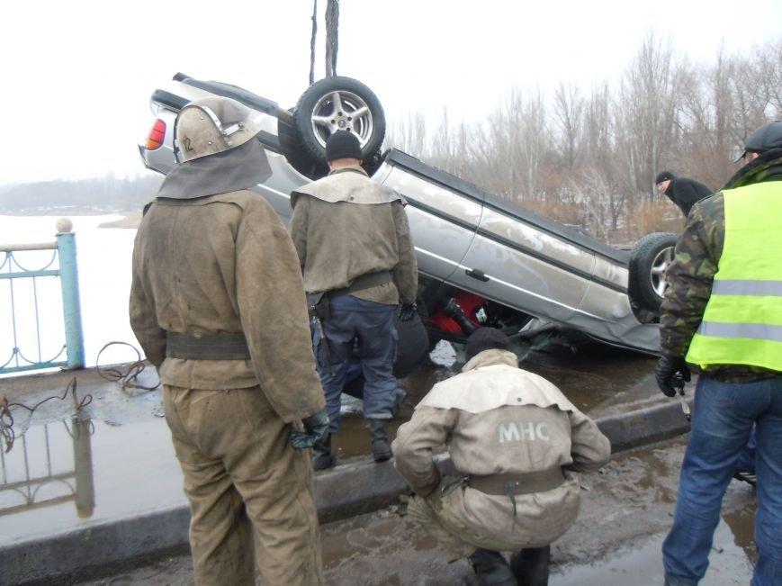 Трагедия на мосту в Кривом Роге: утонули трое детей и женщина-водитель (ФОТО, ВИДЕО), фото-4