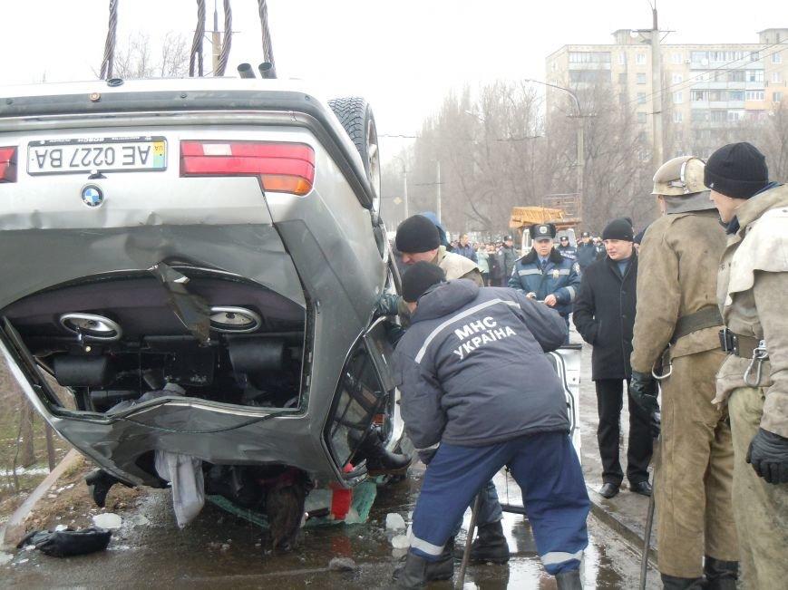 Трагедия на мосту в Кривом Роге: утонули трое детей и женщина-водитель (ФОТО, ВИДЕО), фото-7