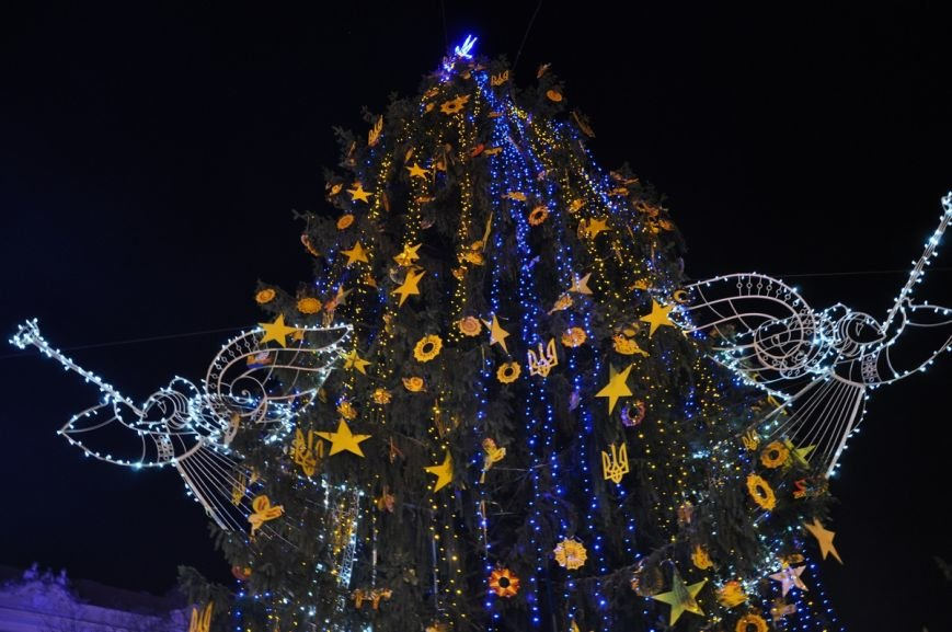 У центрі Львова відкрили ялинку у символах України та Євросоюзу (ФОТО), фото-3