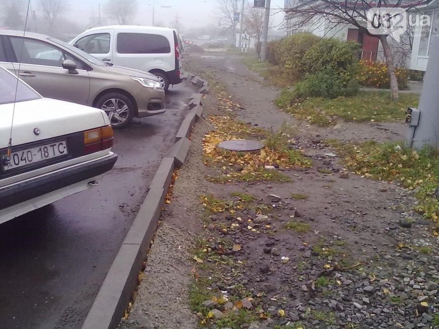 Львів'яни планують перекрити рух транспорту, якщо влада не відремонтує бордюри (ФОТО), фото-5