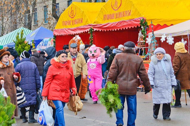 How much is the fish? В Луганске прошла Новогодняя ярмарка (ФОТО), фото-2