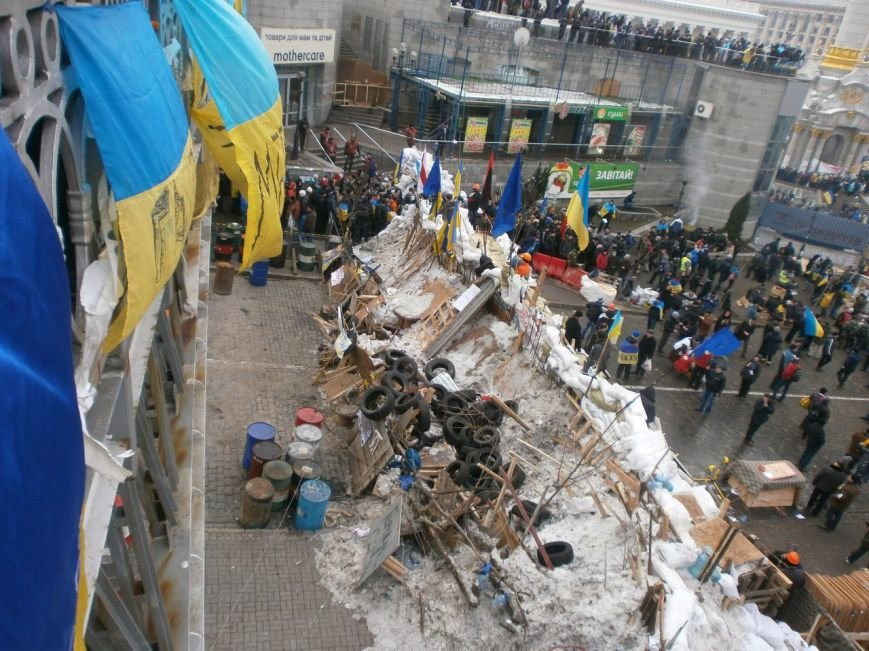 В Мариуполе  сегодня слушали  ходоков на киевский Евромайдан (ФОТО, Видео), фото-3
