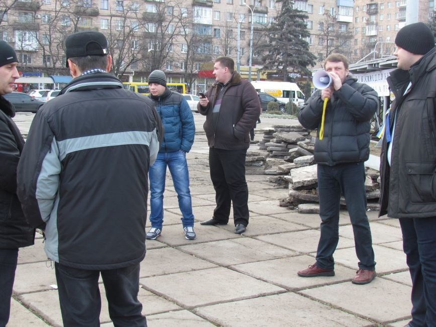 В Мариуполе  сегодня слушали  ходоков на киевский Евромайдан (ФОТО, Видео), фото-9