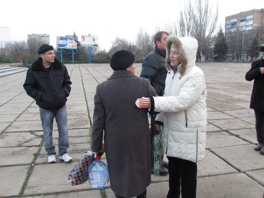 В Мариуполе  сегодня слушали  ходоков на киевский Евромайдан (ФОТО, Видео), фото-5