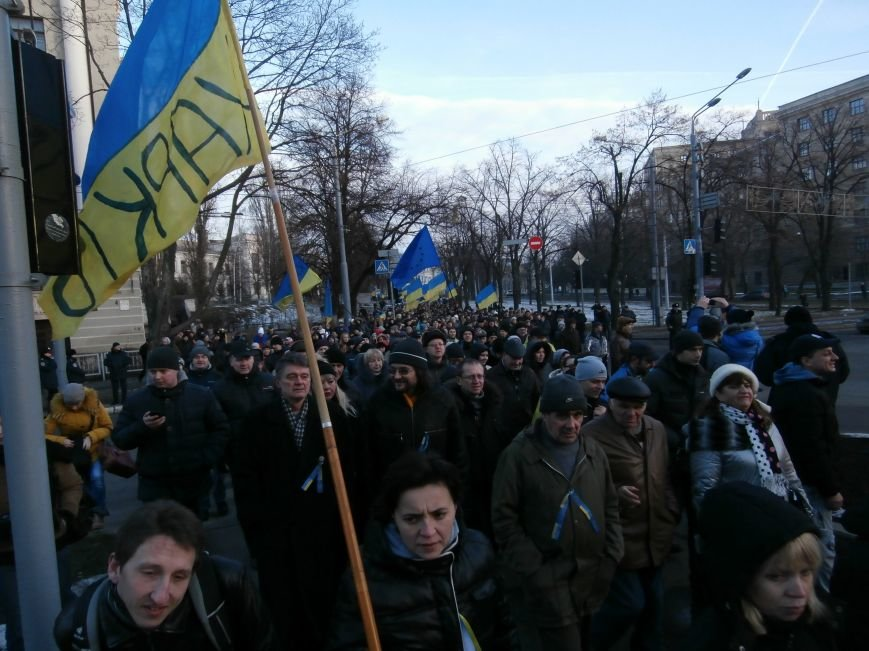 Харьковчане символически переименовали проспект Ленина в честь фронтмена британской группы The Beatles Джона Леннона (фото, видео), фото-25