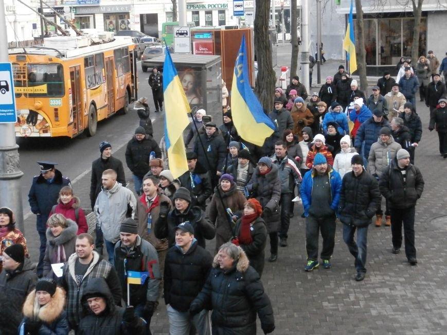 Харьковчане символически переименовали проспект Ленина в честь фронтмена британской группы The Beatles Джона Леннона (фото, видео), фото-14