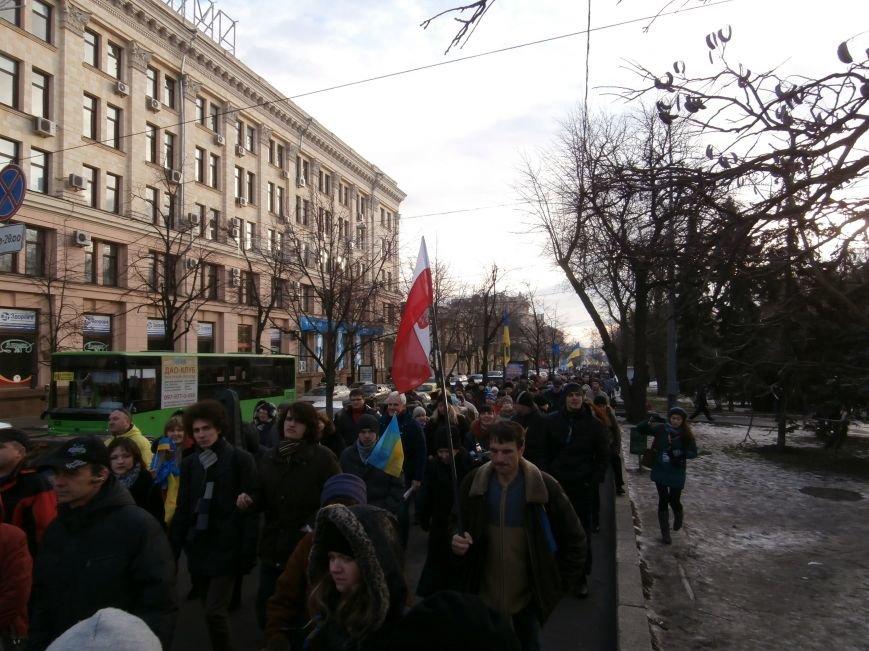 Харьковчане символически переименовали проспект Ленина в честь фронтмена британской группы The Beatles Джона Леннона (фото, видео), фото-8