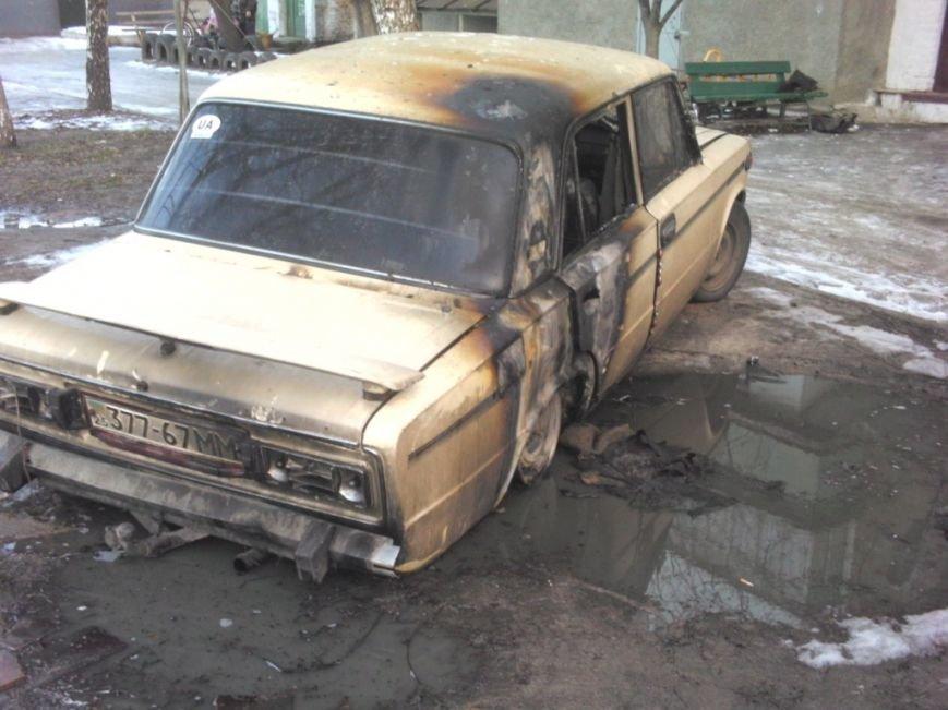 За один день в Черниговской области горели два автомобиля ВАЗ (ФОТО), фото-1