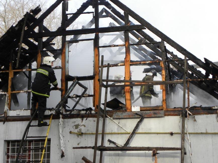 В Чернигове горел частный дом, фото-3
