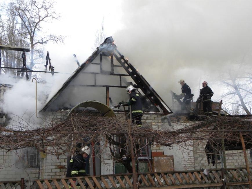 В Чернигове горел частный дом, фото-2