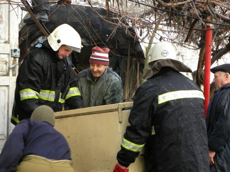 В Чернигове горел частный дом, фото-4