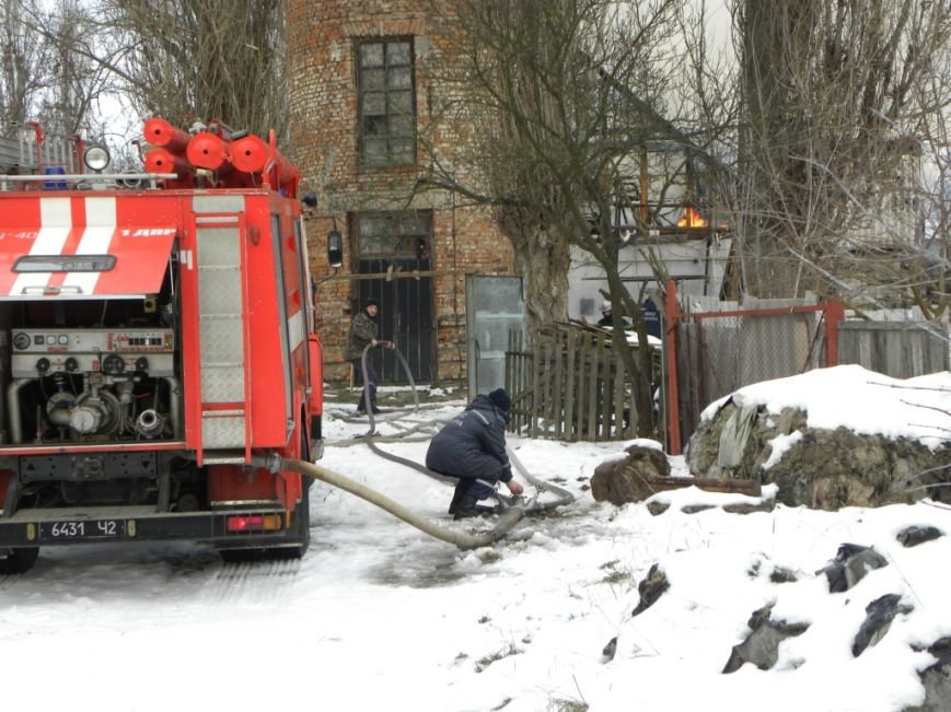 В Чернигове горел частный дом, фото-5