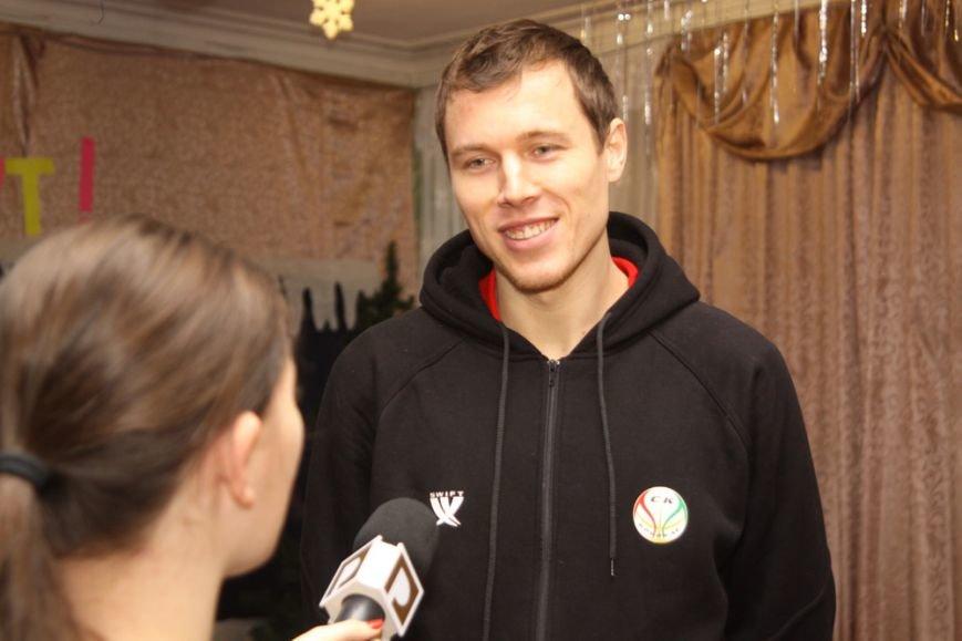 Дети школы-интерната №1 пообщались со звездами криворожского баскетбола, фото-5