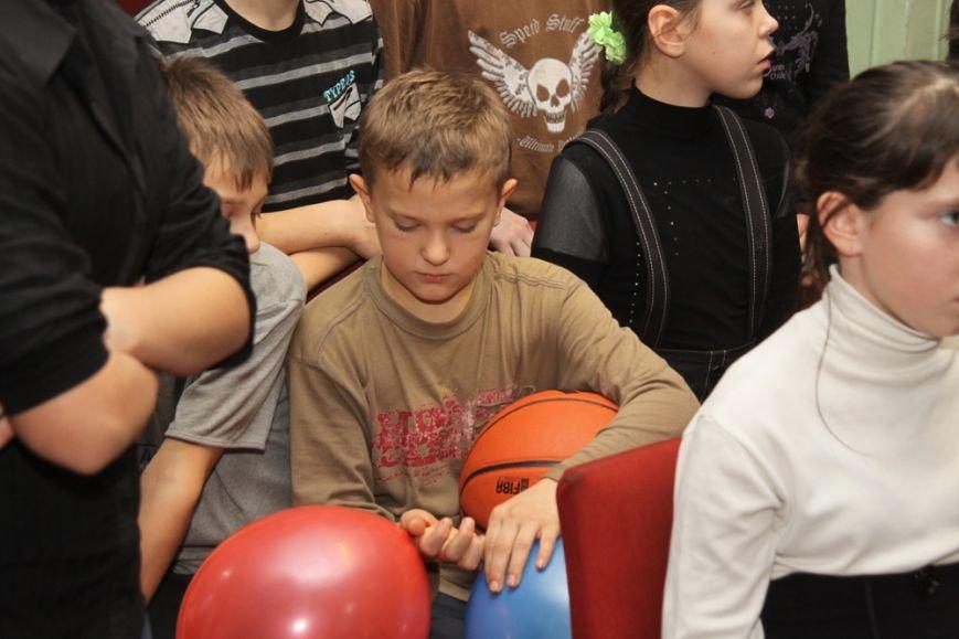 Дети школы-интерната №1 пообщались со звездами криворожского баскетбола, фото-2