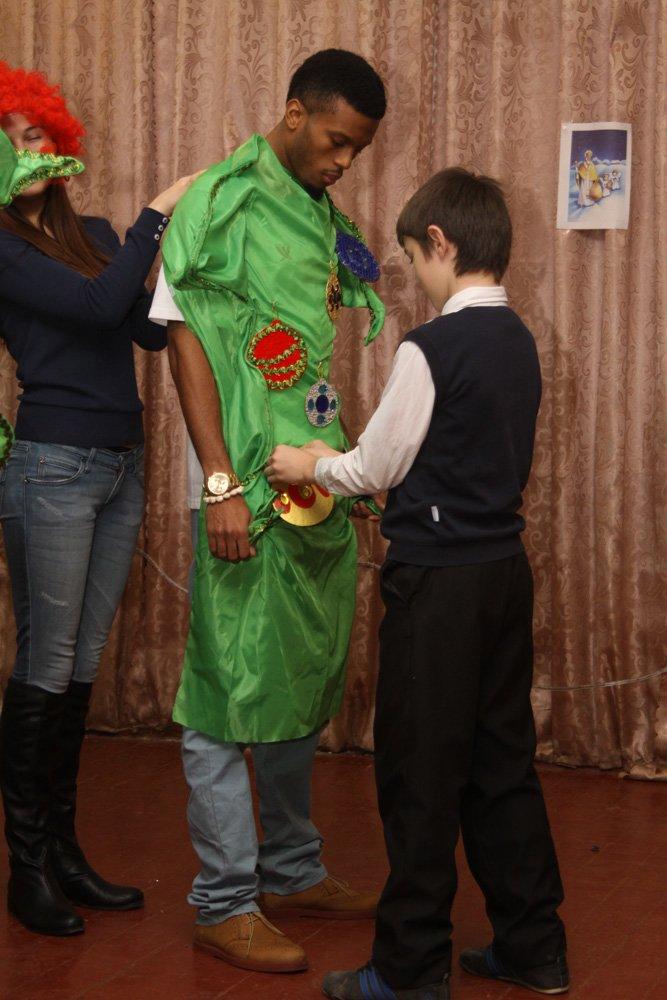 Дети школы-интерната №1 пообщались со звездами криворожского баскетбола, фото-6
