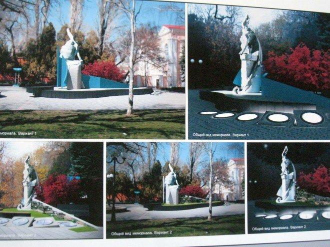 Чиновники показали, как будет выглядеть мемориал морякам в Феодосии, фото-2