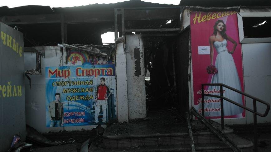 В Красноармейске на центральном рынке сгорел торговый павильон (ФОТО), фото-9
