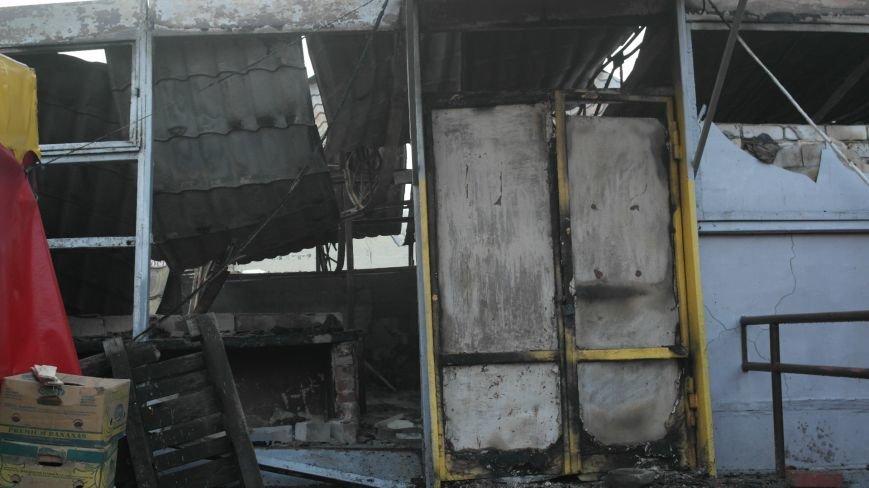 В Красноармейске на центральном рынке сгорел торговый павильон (ФОТО), фото-2