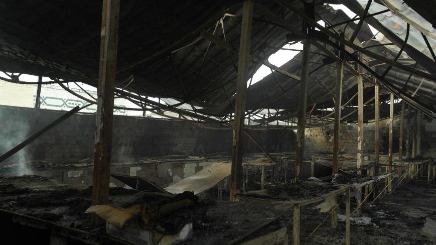 В Красноармейске на центральном рынке сгорел торговый павильон (ФОТО), фото-30