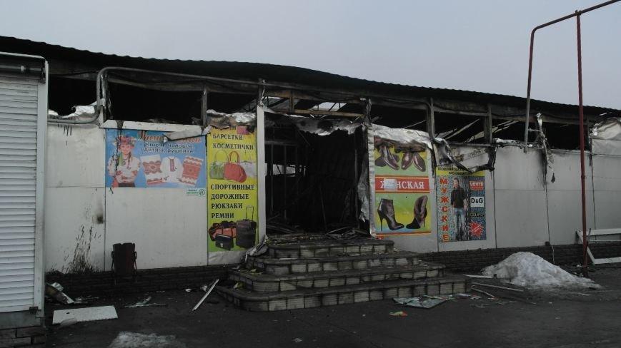 В Красноармейске на центральном рынке сгорел торговый павильон (ФОТО), фото-15