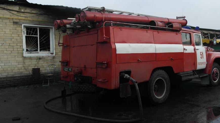 В Красноармейске на центральном рынке сгорел торговый павильон (ФОТО), фото-17