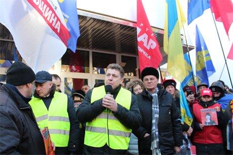 Тисячі людей пікетують МВС та вимагають розслідування побиття Чорновол (ФОТО), фото-4