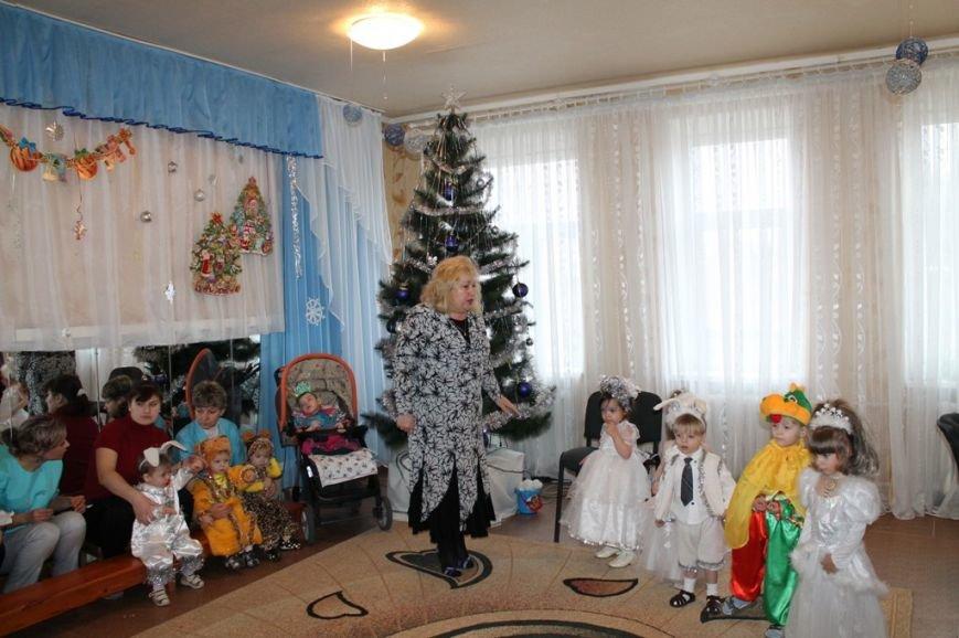 Воспитанники артемовского Дома Ребенка блеснули талантами перед Дедом Морозом, фото-9