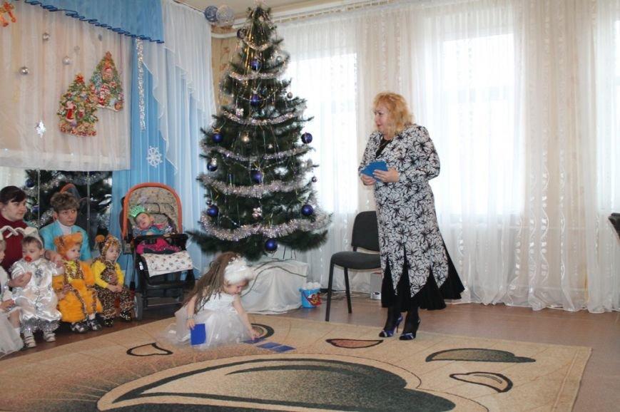 Воспитанники артемовского Дома Ребенка блеснули талантами перед Дедом Морозом, фото-1