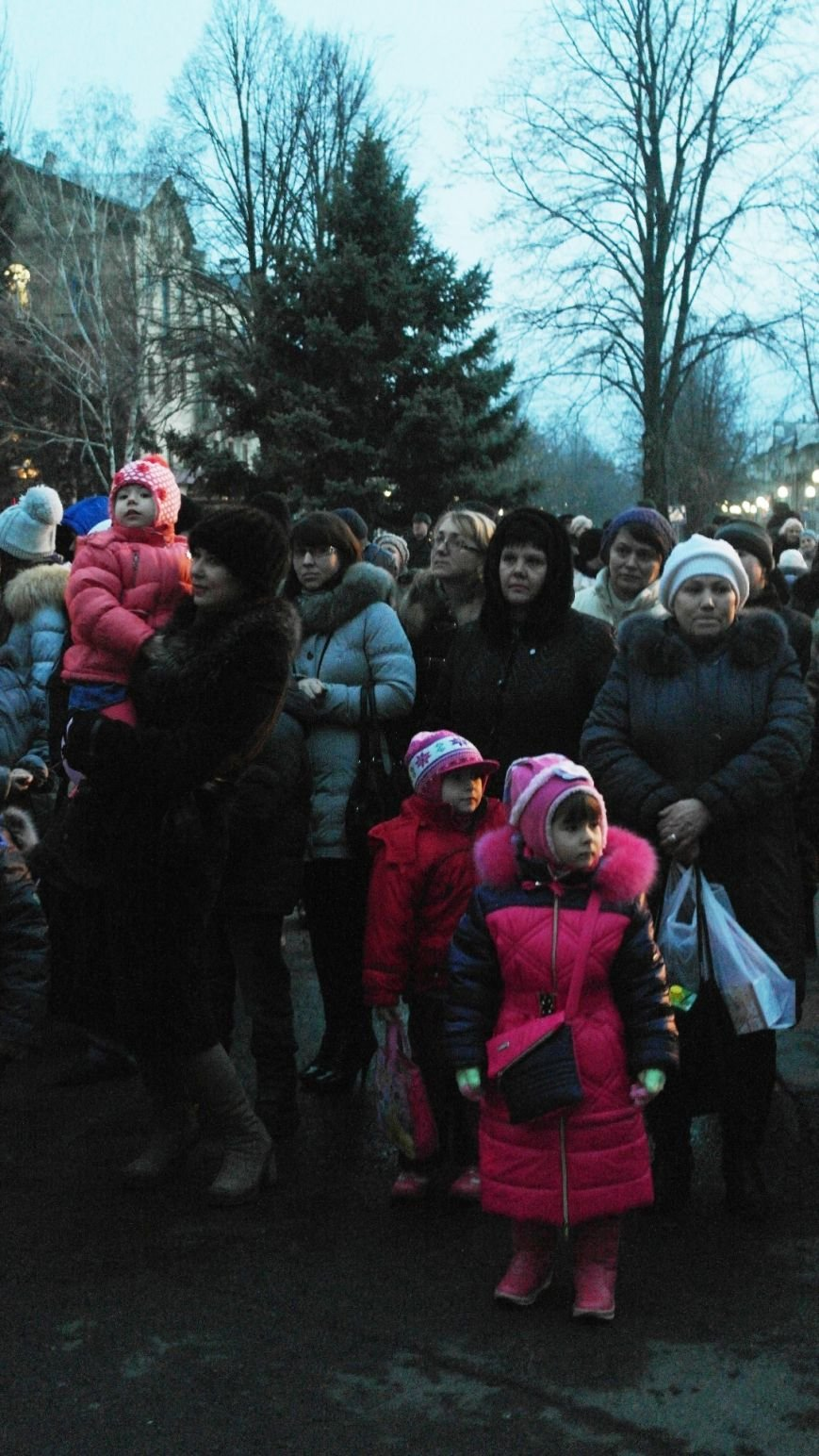 «Раз, два, три…» В Красноармейске «зажглась» Новогодняя елка, фото-16
