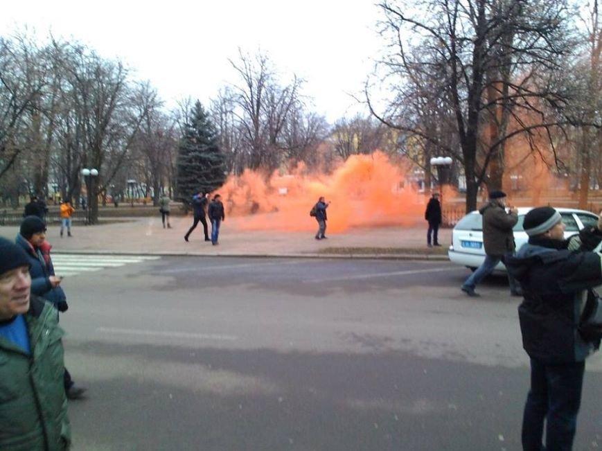 Сегодня Луганский Евромайдан закидали дымовыми шашками (ФОТО, ВИДЕО), фото-5