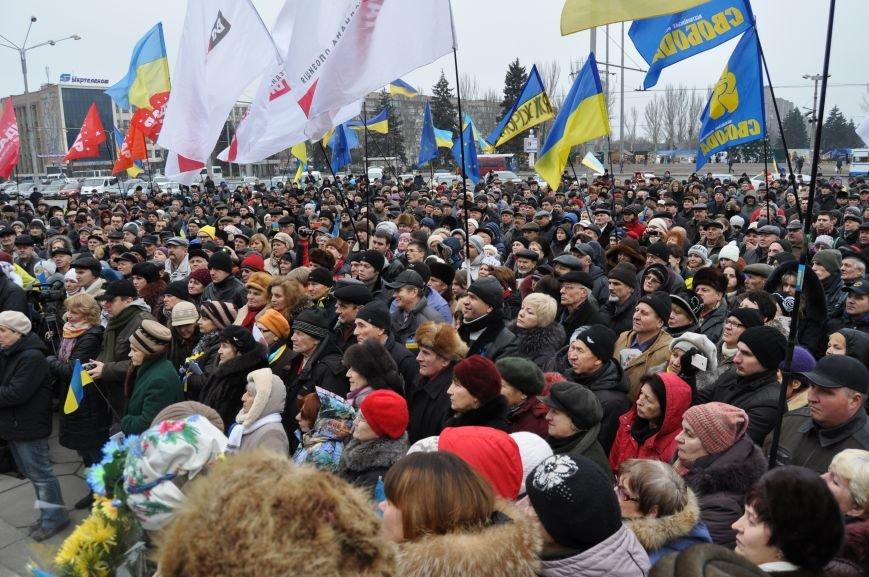 В Запорожье на ЕвроМайдане  выступил экс-министр МВД Юрий Луценко (ФОТО), фото-1