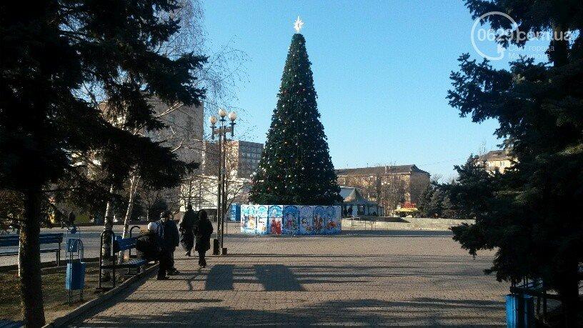 В Мариуполе во всех районах города искусственные елки (ФОТО), фото-9