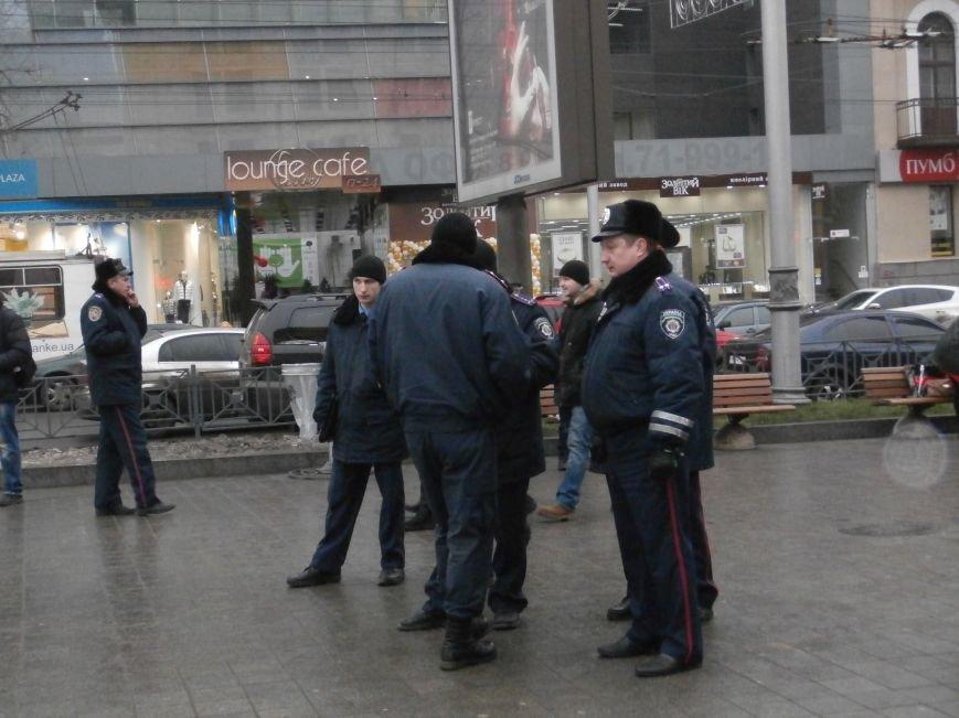 Харьковские «евромайдановцы» придумали новый перфоманс: вспомнили избиение митингующих в Киеве перебеганием тротуара (фото), фото-14