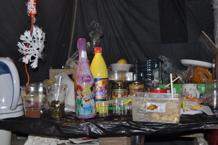 ФОТОРЕПОРТАЖ: Группа запорожцев отпраздновала новый год в «революционных» условиях на столичном Майдане, фото-8