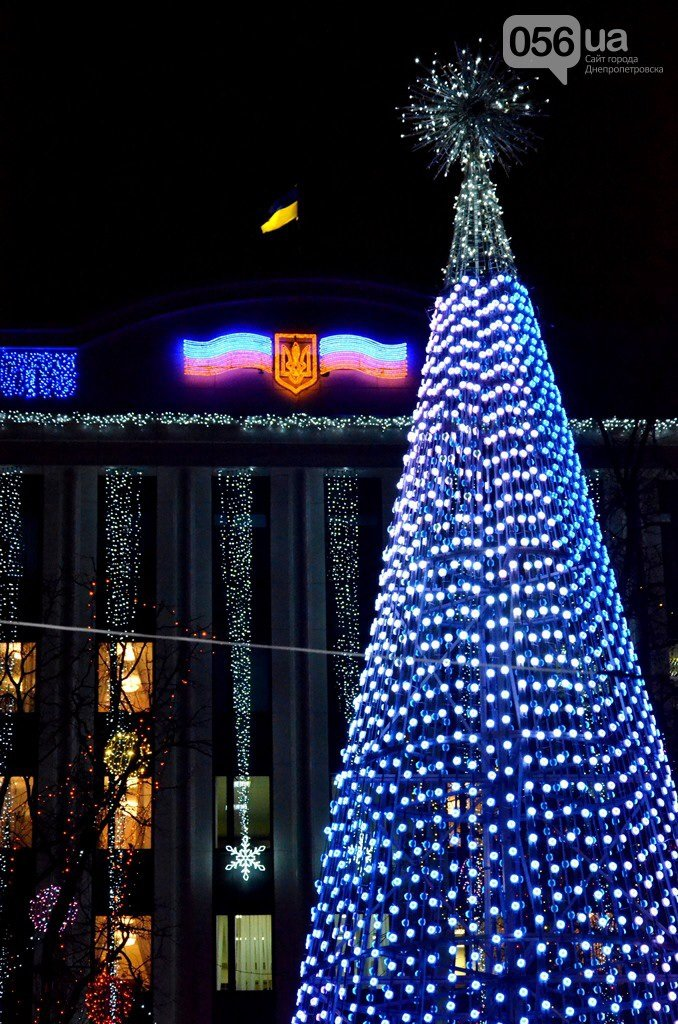 Днепропетровск-главная елка-1