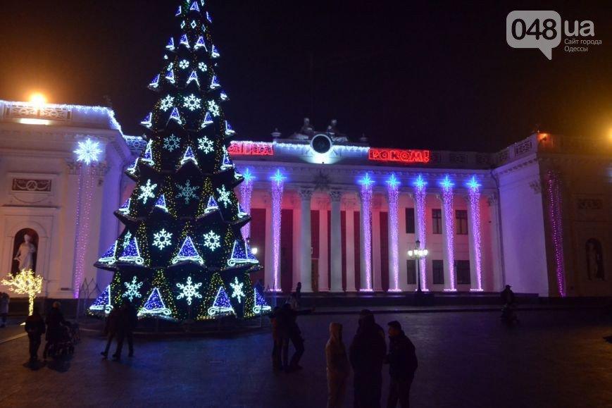 Одесса-главная елка