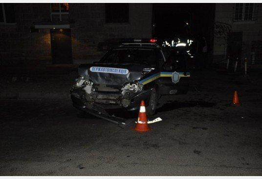 Ночная погоня в Харькове: три экипажа ГАИ полчаса ловили пьяного водителя, который таранил милицйские машины (фото), фото-4