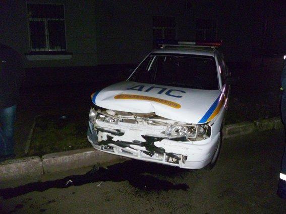Ночная погоня в Харькове: три экипажа ГАИ полчаса ловили пьяного водителя, который таранил милицйские машины (фото), фото-3