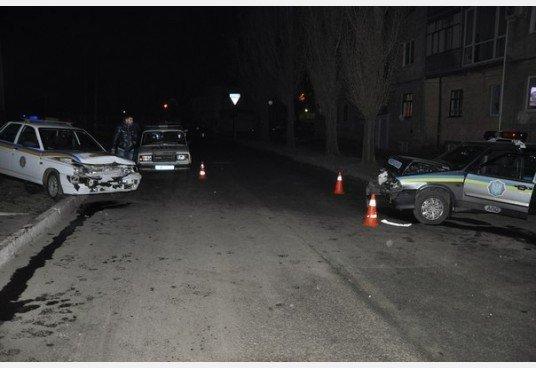 Ночная погоня в Харькове: три экипажа ГАИ полчаса ловили пьяного водителя, который таранил милицйские машины (фото), фото-5