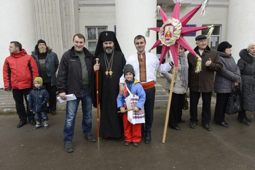 На Рождество симферопольцам показали мистерию о «светлых силах Майдана» (ФОТО), фото-3