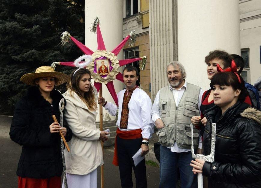 На Рождество симферопольцам показали мистерию о «светлых силах Майдана» (ФОТО), фото-2
