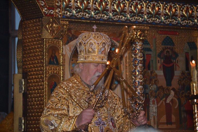 Глава Чувашии посетил Рождественское богослужение в Покровско-Татианинском соборе (ФОТО), фото-5