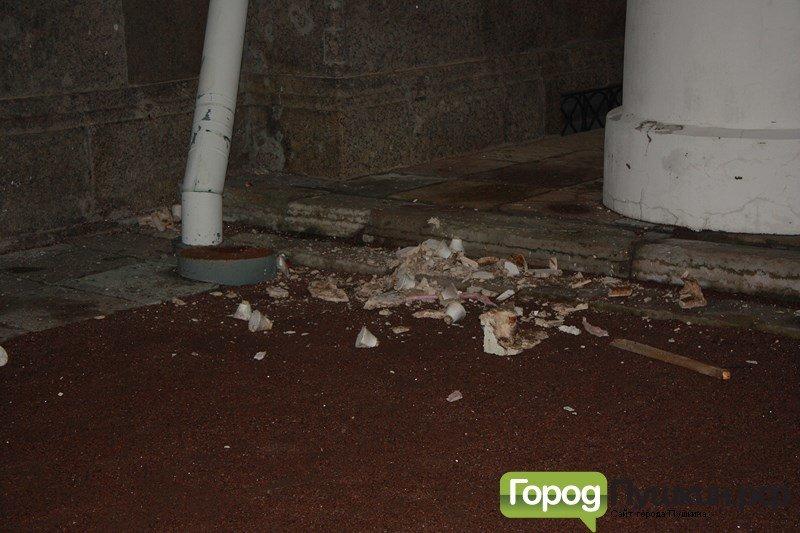 обрушение части Софийского собора