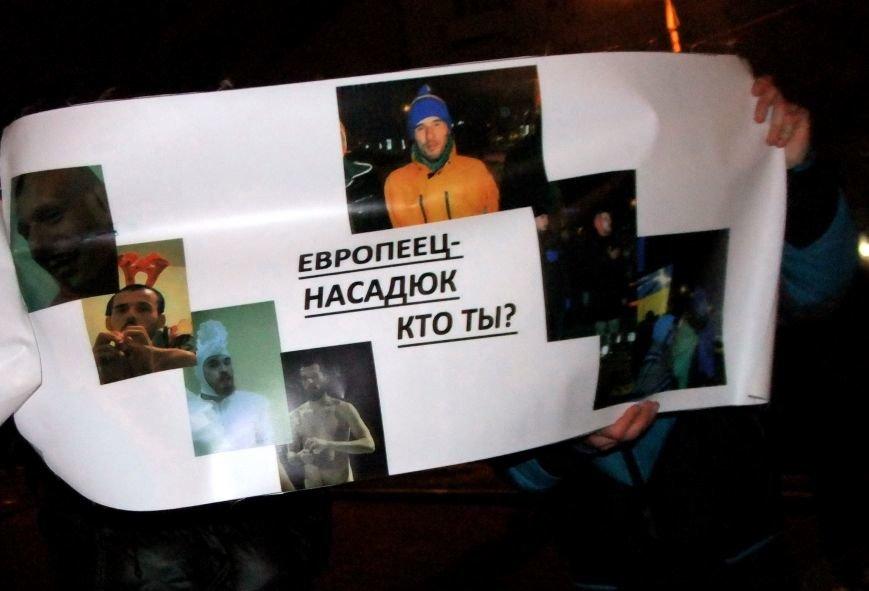 Рождественский вертеп на донецком Евромайдане попытались сорвать «борцы против курения» (фото, видео), фото-3