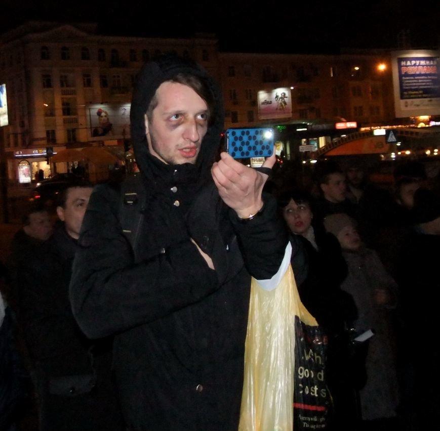 Рождественский вертеп на донецком Евромайдане попытались сорвать «борцы против курения» (фото, видео), фото-6