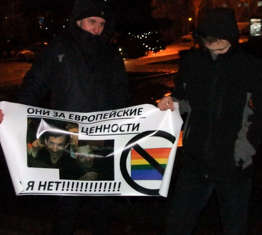 Рождественский вертеп на донецком Евромайдане попытались сорвать «борцы против курения» (фото, видео), фото-2