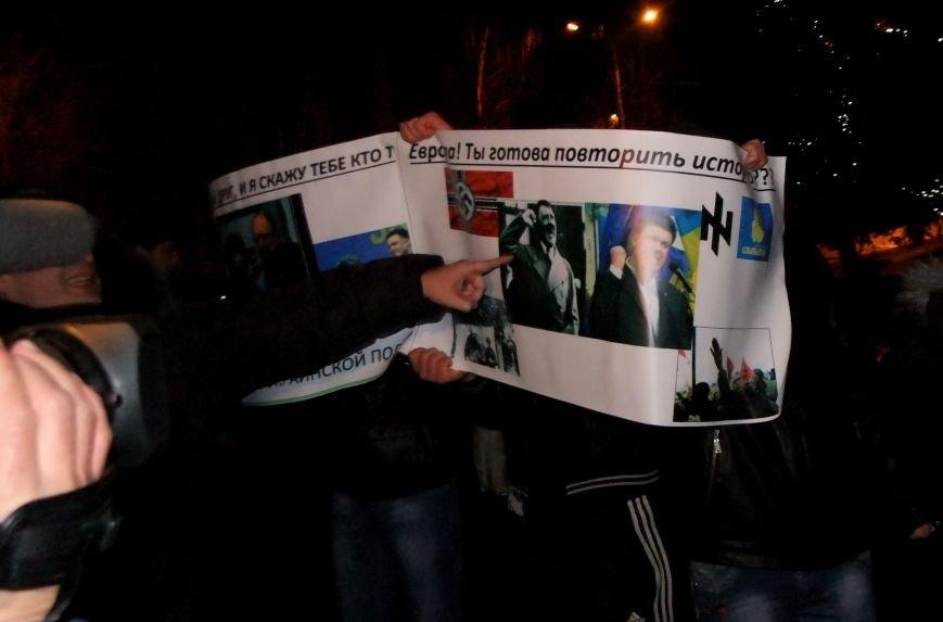 Рождественский вертеп на донецком Евромайдане попытались сорвать «борцы против курения» (фото, видео), фото-4